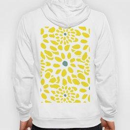 Flowers in Yellow Hoody