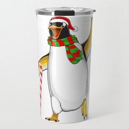 Christmas Penguin Travel Mug