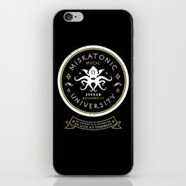 Miskatonic University  iPhone Skin