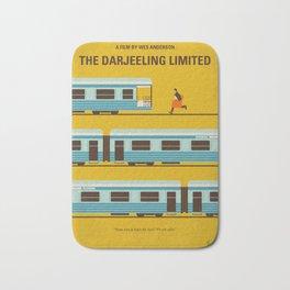 No800 My The Darjeeling Limited minimal movie poster Bath Mat