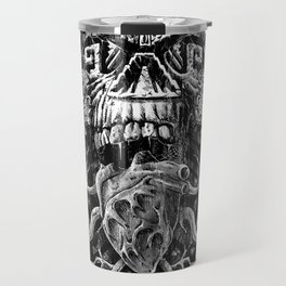 Aztec Skull Travel Mug