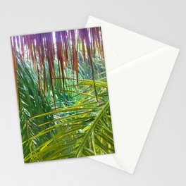 477 - Abstract jungle design Stationery Cards