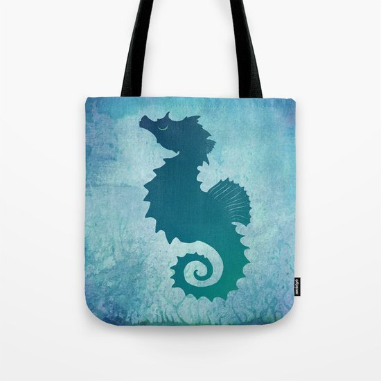 Seahorse of a Different Color ~ Marine Life ~ (Copyright 2015) Tote Bag