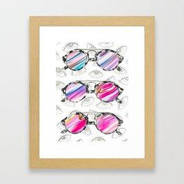 Sunglasses 2 Framed Art Print