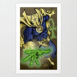 Dr. Fate Art Print