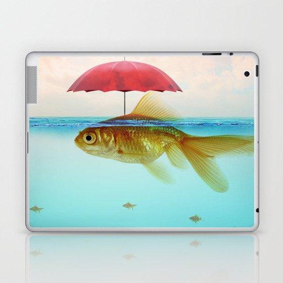Under Cover Goldfish Laptop & iPad Skin