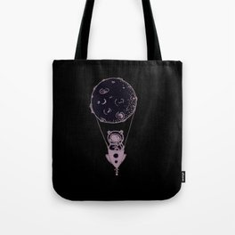 Hot Air Moon Tote Bag