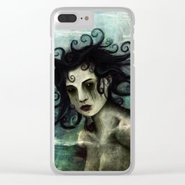 Black Eyed Angel (2017) Clear iPhone Case