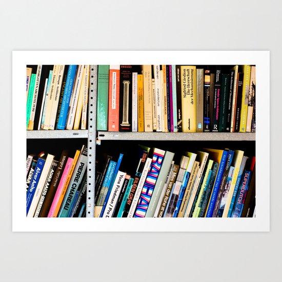 Books, Books and More Books Art Print