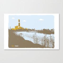 TLV port Canvas Print