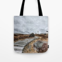 Most Easterly Lighthouse Tote Bag