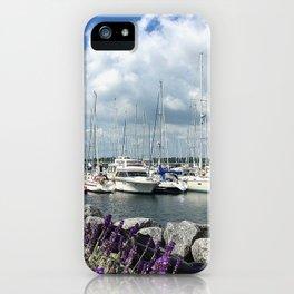 Mediterrane Harbor iPhone Case