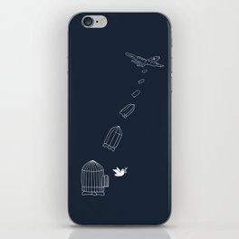 Peace Bomber iPhone Skin