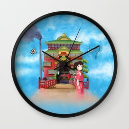 Bath House Wall Clock