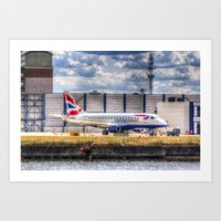 british Art Prints featuring British Airways  by David Pyatt