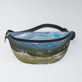 Mountain View From Tuolumne Meadows Fanny Pack