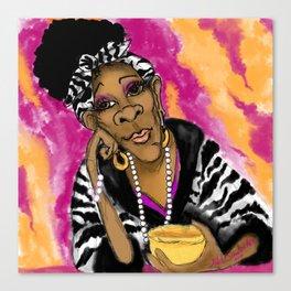 Hmm, Tea Dear Canvas Print