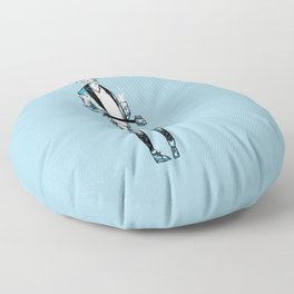 Mike Hind Floor Pillow