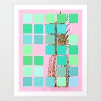 Pantone Pineapple Art Print