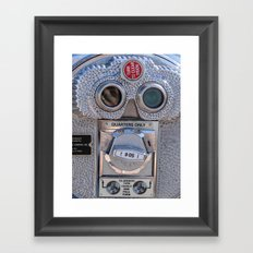 Look Thru Me Framed Art Print