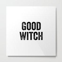 Good Witch Metal Print