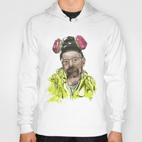 walter white Hoodies featuring Walter White  by Madows