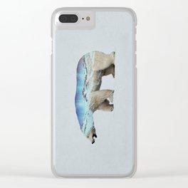 The Arctic Polar Bear Clear iPhone Case