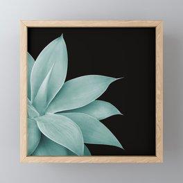 Agave Finesse #4 #tropical #decor #art #society6 Framed Mini Art Print