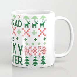 Rad as a Christmas Sweater Coffee Mug