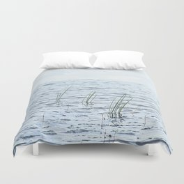 Calm waters. Duvet Cover