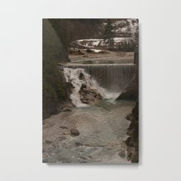 Sava Waterfall Metal Print