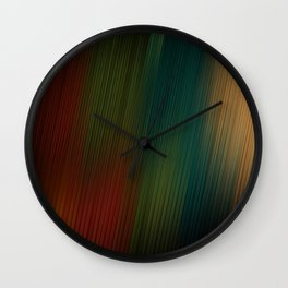 Colors Wall Clock