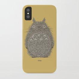Yellow Totoro iPhone Case