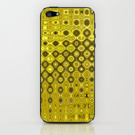 Yellow Wave iPhone Skin