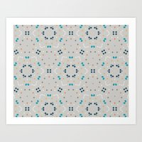 gold dots Art Prints featuring dots by Designed by Ruth