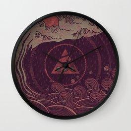 Dark Waters Wall Clock