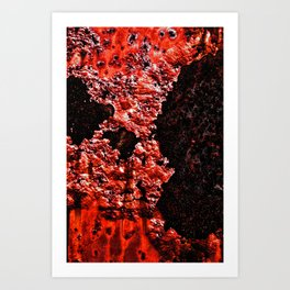Red Red Rust Art Print