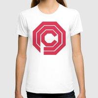 robocop T-shirts featuring Robocop by FilmsQuiz