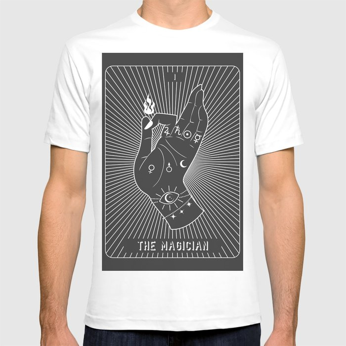 Minimal Tarot Deck The Magician T-shirt