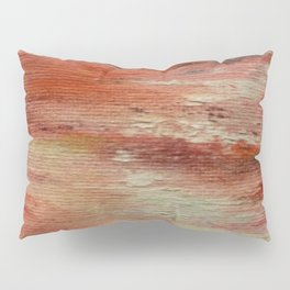 Red Monet's Theme of Waterlilies Pillow Sham