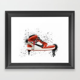 OFF WHITE J1 Framed Art Print