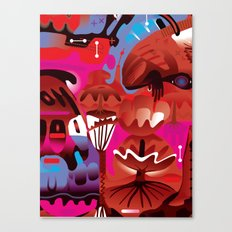Brain on Love Canvas Print