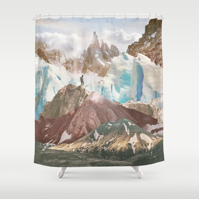 The Explorer Shower Curtain