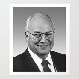 Dick Cheney, Vice President of the United States Art Print