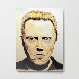 Christopher Walken Metal Print