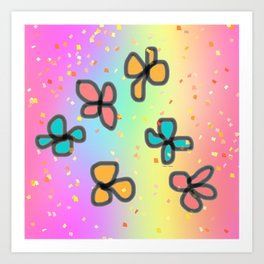 PETIT FLOWERS Art Print