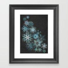 The Mountain Drift Framed Art Print
