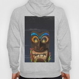 Tribal Carved Face Hoody