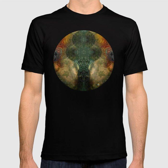 """The Inner Forest (caramel pattern)"" T-shirt"