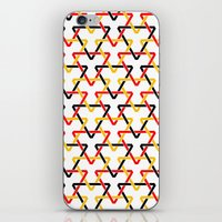 german iPhone & iPod Skins featuring German Triangles by Bob Greenwade